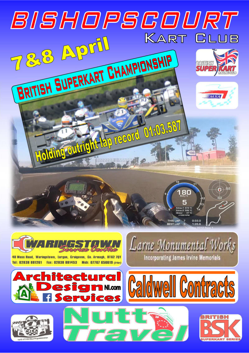 Bishopscourt Racing Circuit | British Superkart Championship 7 & 8th